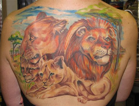 lion family tattoo 40 most original tattoos unleashing your inner beast