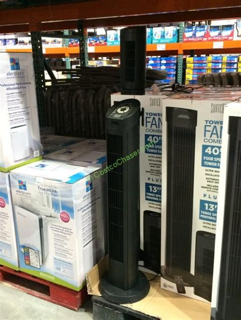sunter tower fan manual sunter tower fan combo costcochaser