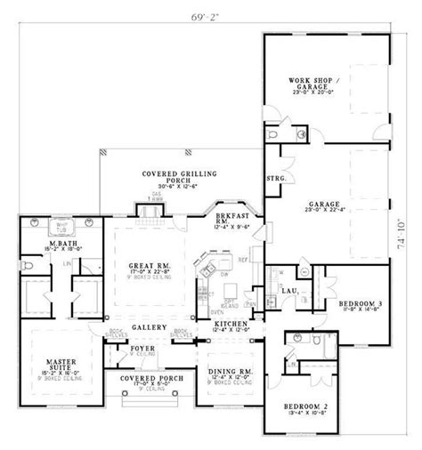 1531432floorplanfirststory 1000 large ranch style house