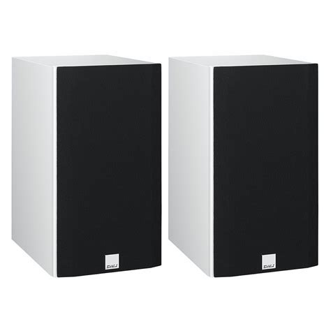dali opticon 2 white bookshelf speakers pair dali