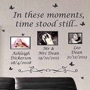 The Day Time Stood Still Wall Sticker