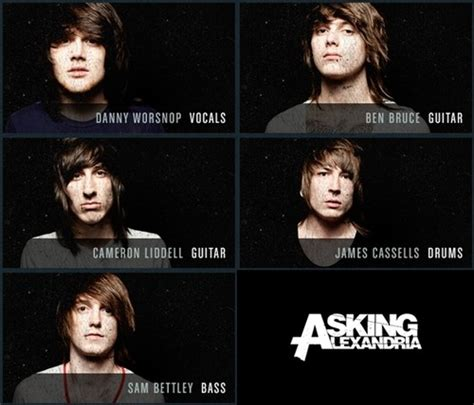 asking alexandria creature cameron lidell on