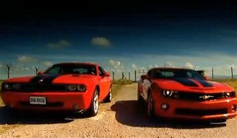 camaro ss vs challenger srt8 chevrolet camaro ss vs dodge challenger srt8 gtspirit