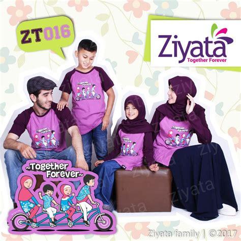 Kaos Family kaos family kaos keluarga ziyata ungu zt 016