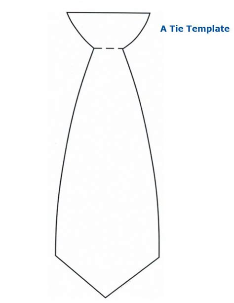 printable necktie greeting card template great tie template print it out get you toddler to paint