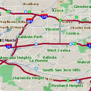 covina california map west covina ca pictures posters news and on