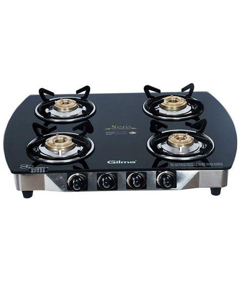 Gilma Nero 4 burner A/I 4 Burners Automatic Price in India