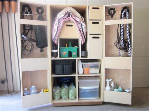 Tack Armoire by Equestrian Woodworks
