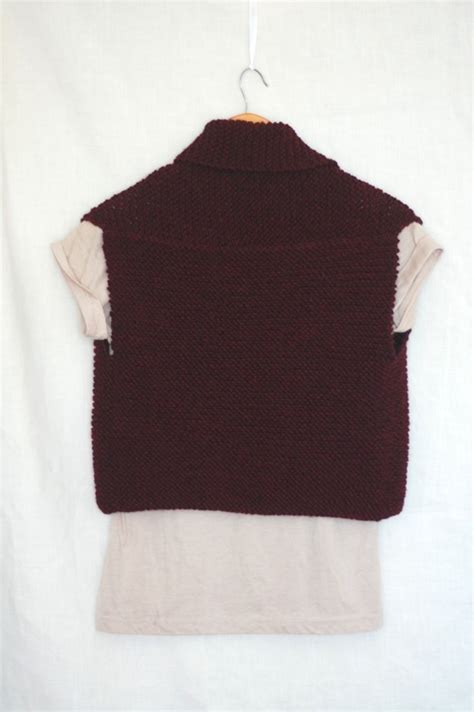knitting pattern simple vest simple knitting vest patterns sweater grey