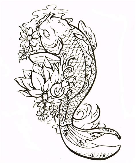 orange koi fish tattoo design on the arm male models picture