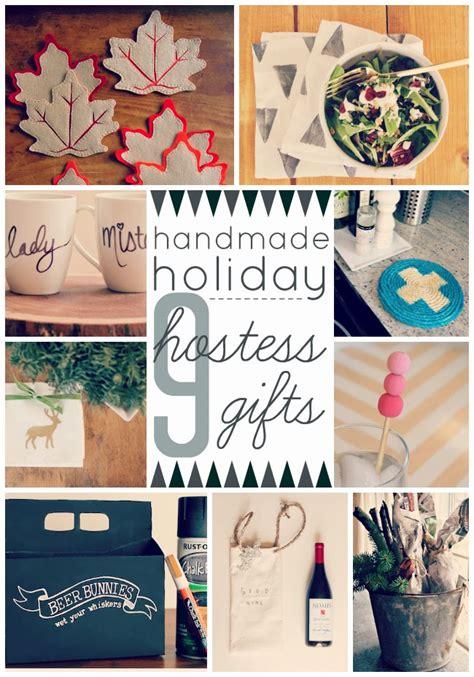 Handmade Hostess Gifts - eat sleep make 9 handmade hostess gifts