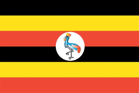 flags of the world uganda ugandan flag flag of uganda
