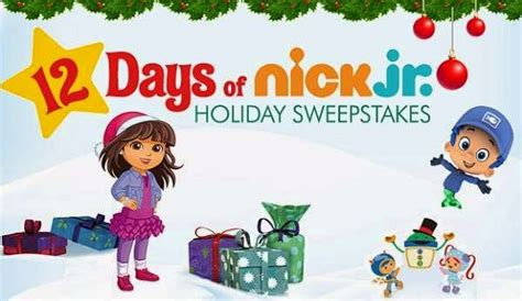 Nickelodeon Friendship Sweepstakes - 12 days of nick jr holiday sweepstakes sweepstakesbible