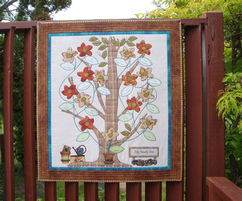 Family Tree Quilt Pattern by Family Tree Template Family Tree Quilt Template