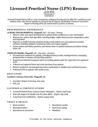 Dental Resume Exles Writing Tips Resume Companion Free Lpn Resume Template