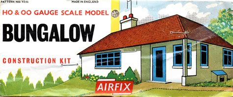 bungalow two section series airfix trackside series