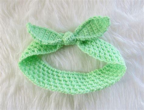 crochet pattern baby headbands free crochet dreamz knot me up headband free crochet pattern