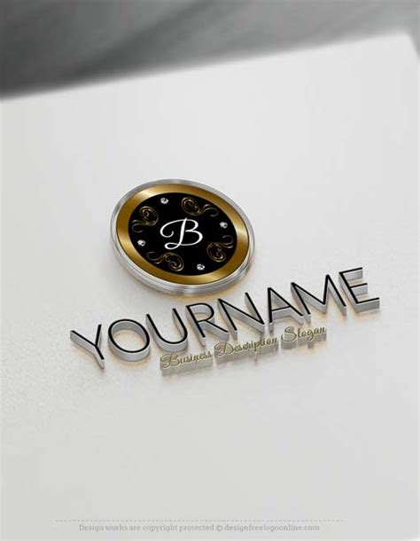design idea generator free logo maker online luxurious frame logo design