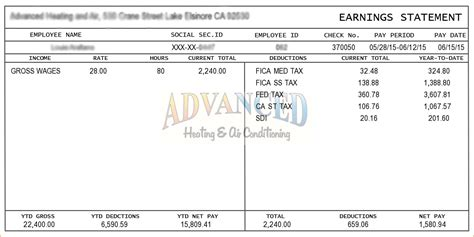 year to date pay stub template 5 sle pay stub timeline template
