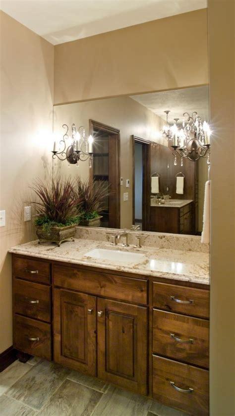 Knotty Alder Bathroom Vanity Custom Cabinetry Bathroom Cabinets Bath Vanity Knotty Alder Bathroom Pinterest Stains