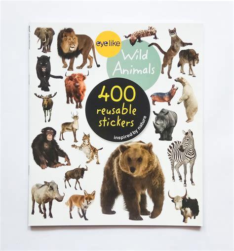 Sticker Stiker Anak Edukatif Animals Binatang thinkers books distributor dropship buku import anak jakarta indonesia