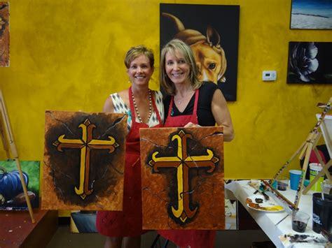 paint with a twist granbury painting with a twist for a cause