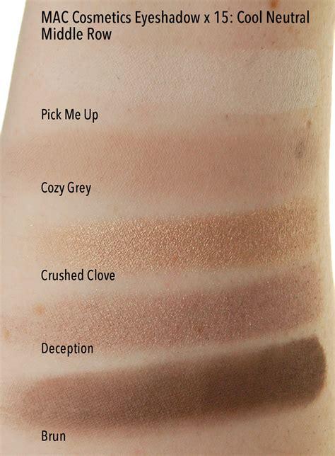 Mac Eyeshadow X 15 mac cosmetics eye shadow x 15 cool neutrals palette