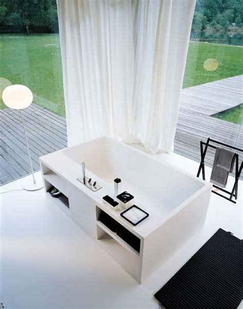 cartesio bath by benedini associati for agape