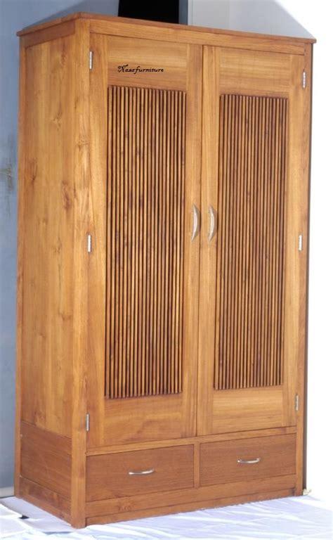 Almari Sleding Minimalis Kayu Jati 1 naza furniture pusatnya jual furniture asli jepara