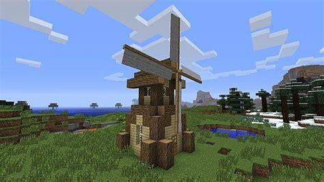 Simple Windmill (BTW) Minecraft Project Minecraft Windmill Farm
