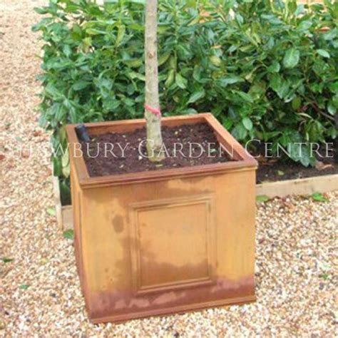 Square Outdoor Planters Large by Classic Large Square Planter