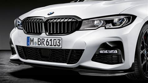Bmw 3 Series 2019 Performance by 2019 Bmw 3 Series Shows Off Its Sporty M Performance Parts