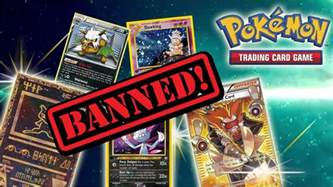 all banned cards throughout the years