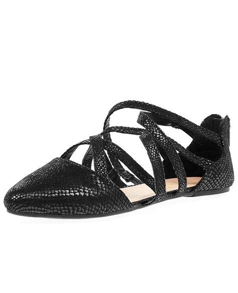 snake print flat shoes blue inc womens black sandals pointed toe snake print wrap