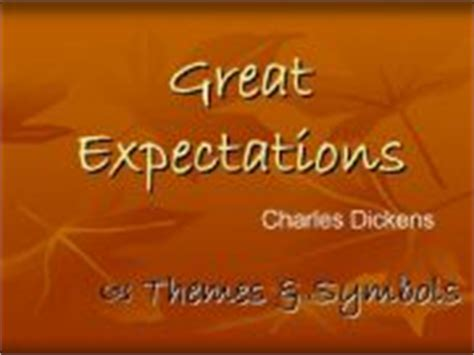 themes great expectations sparknotes esl smartboard lessons great expectations themes and symbols