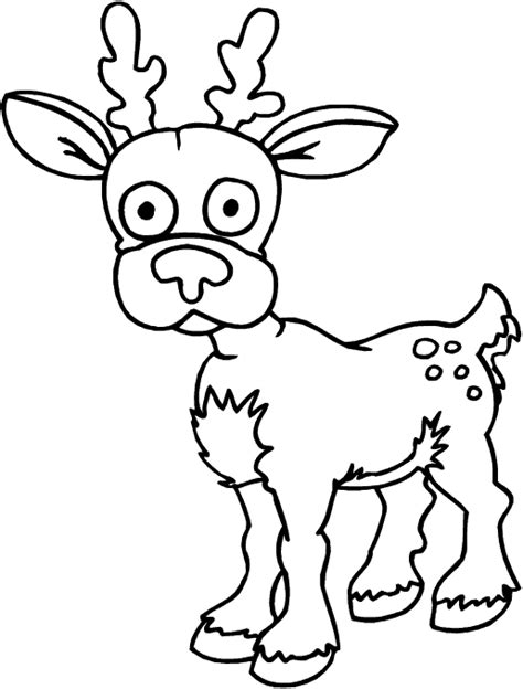 deer head colouring pages picture to pin on pinterest