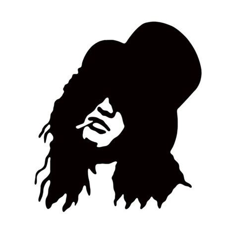 Imperial Home Decor Group Lady Smoking Silhouette Car Sticker For Window Truck Door