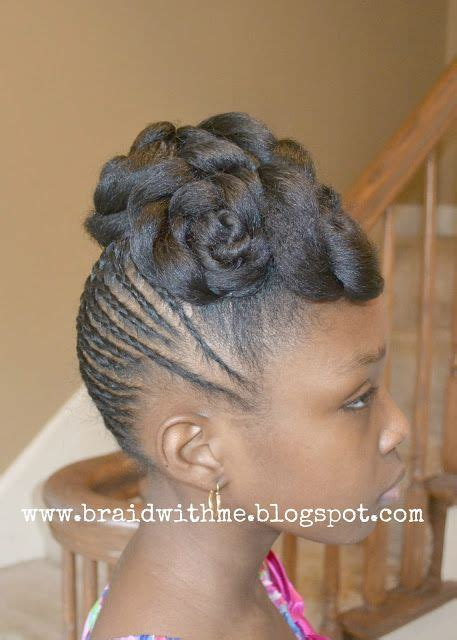 corn rolls in a ponytail hairstyles for young black women pinterest the world s catalog of ideas