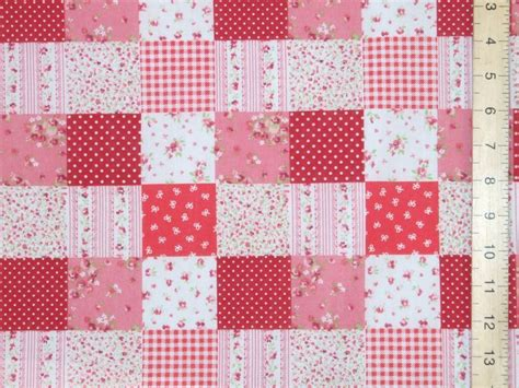 Patchwork Fabrics Uk - patchwork polycotton fabric p c