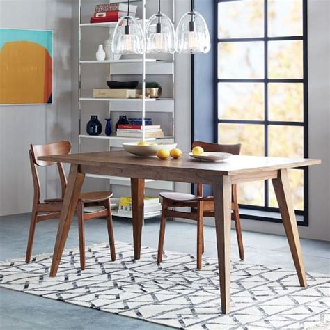 west elm dining room table versa dining table west elm