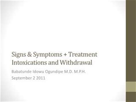 Ecology Detox Symptoms by Ppt Ethics In Critical Care Medicine Withdrawal And