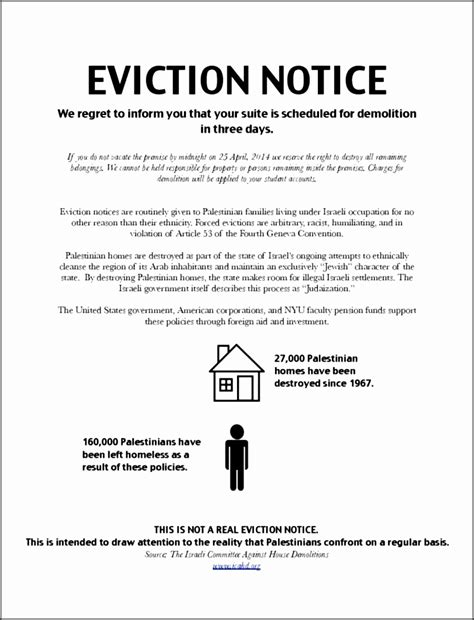 4 Eviction Notice Sle Sletemplatess Sletemplatess Free Louisiana Eviction Notice Template