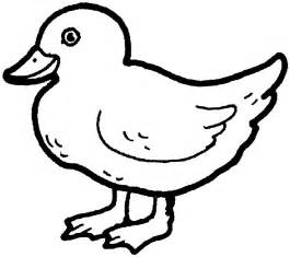 duck coloring pages free printable duck coloring pages for