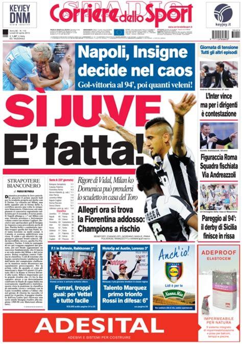 corriere dellos corriere dello sport 22 aprile 2013 funize