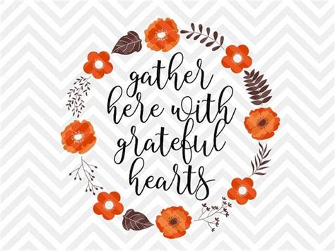 gather here with grateful hearts fall wreath laurel