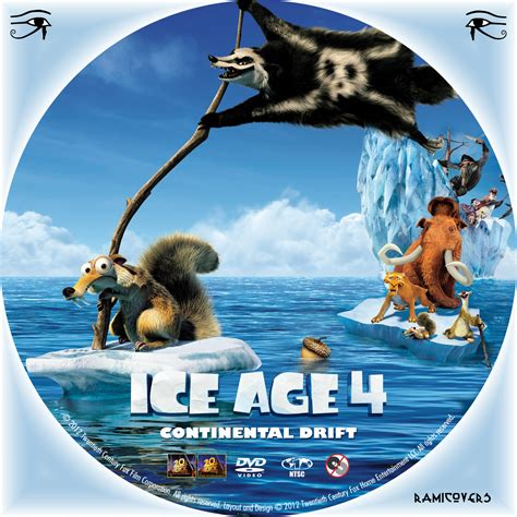 ice age 4 continental drift dvd covers box sk ice age 4 continental drift high