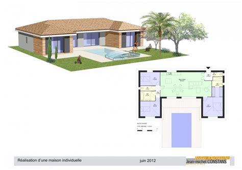 plan de maison plain pied 5 chambres plan de maison 5 chambres plain pied gratuit qp21