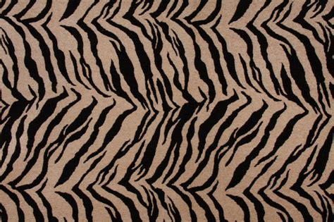 Zebra Fabric Upholstery by M7553 Chenille Tapestry Upholstery Fabric In Onyx Zebra Print