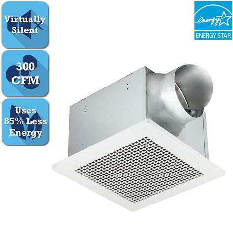 300 cfm bathroom fan delta breez professional pro series 300 cfm ceiling