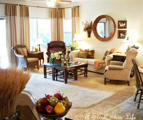 Fall Living Room by Diy Fall Festival Linky Autumn And Thanksgiving